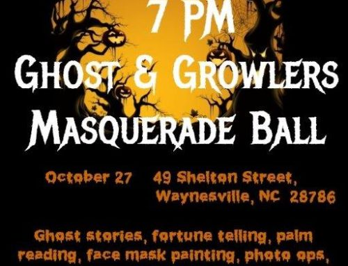 "October 27, 2018 – Shelton House ""Ghosts & Growlers Masquerade Ball"""