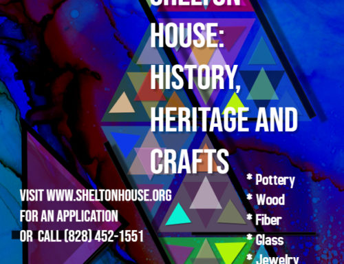 Crafter's Wanted for 3rd Annual Crafter Showcase Program at the Shelton House