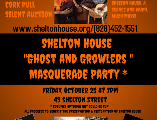 """October 25, 2019 – Shelton House """"Ghosts & Growlers Masquerade Ball"""""""